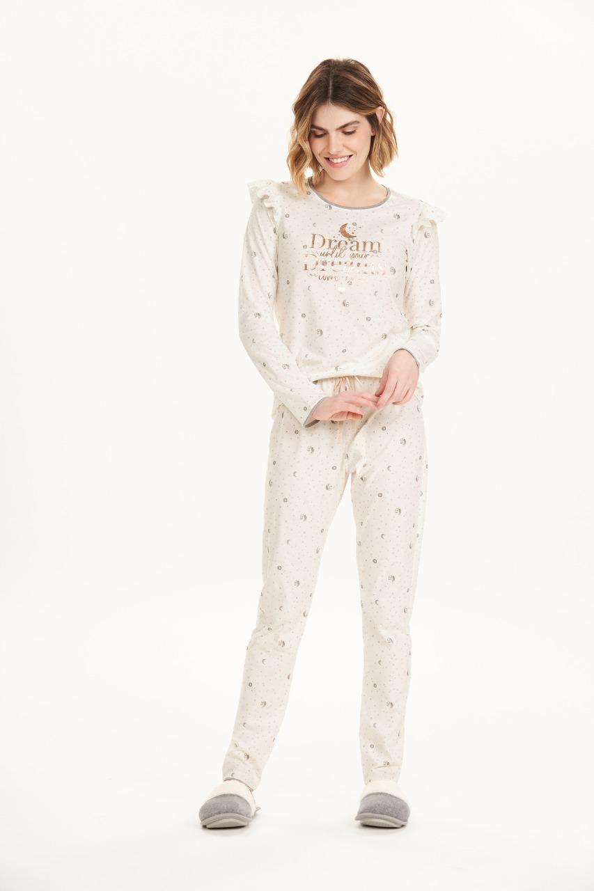 Cor com amor pijama longo 12588
