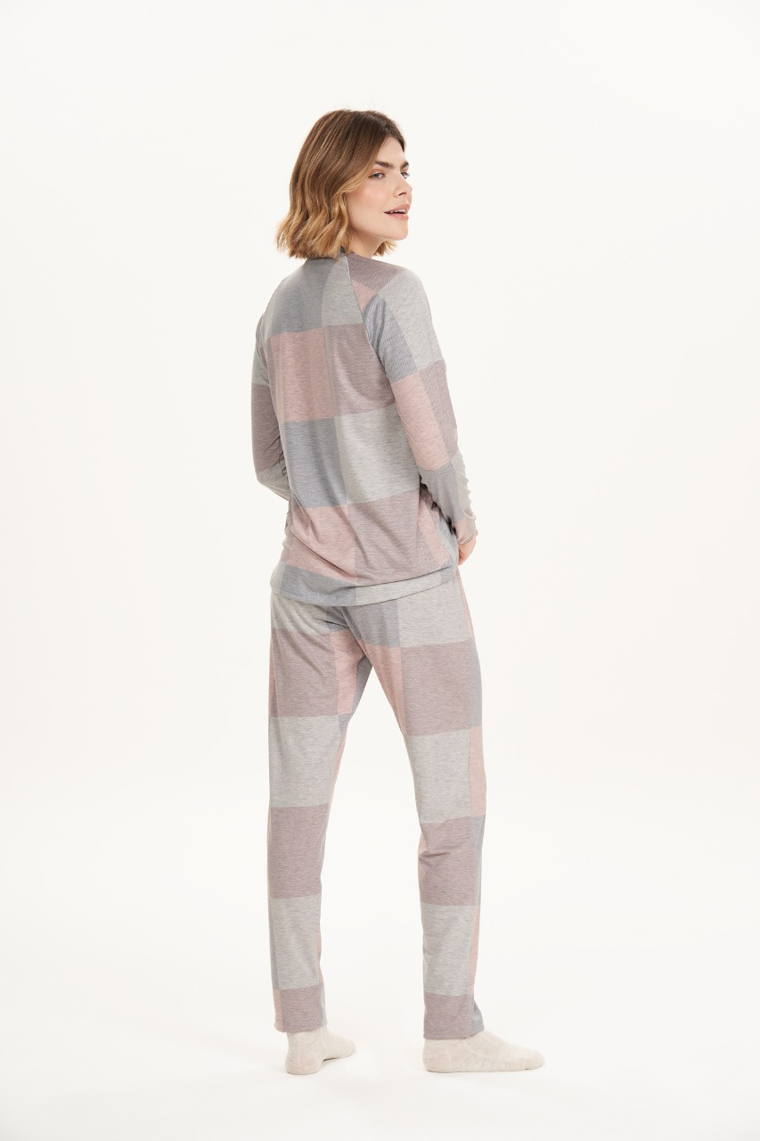 Cor com amor pijama longo 12665