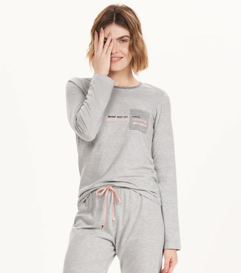 Cor com Amor pijama longo feminino 12625