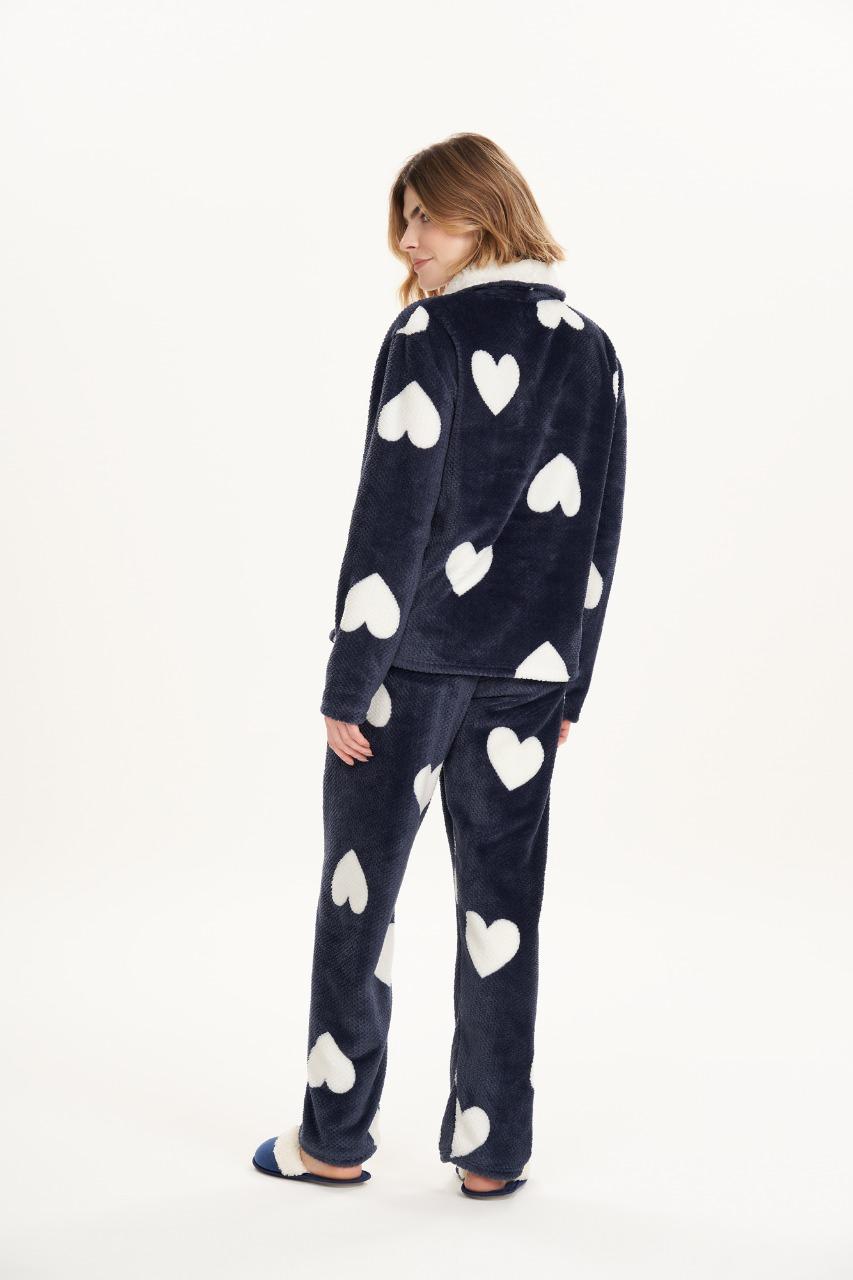 Cor com amor pijama longo soft 12501