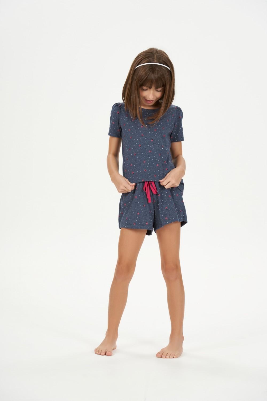 Cor com Amor Short Doll Manga Curta Infantil - 67549