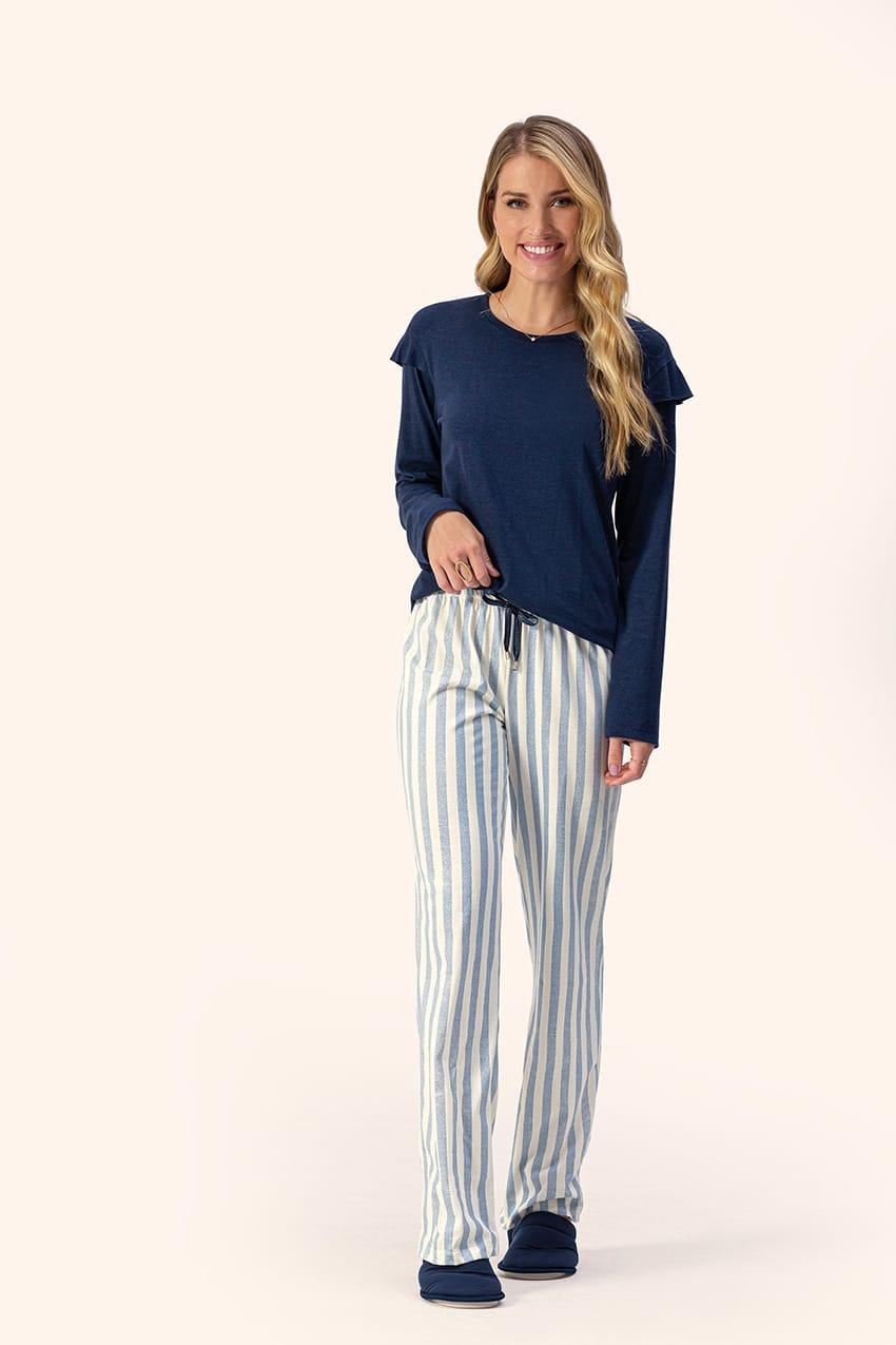 Lua Encantada pijama longo algodão 10100074