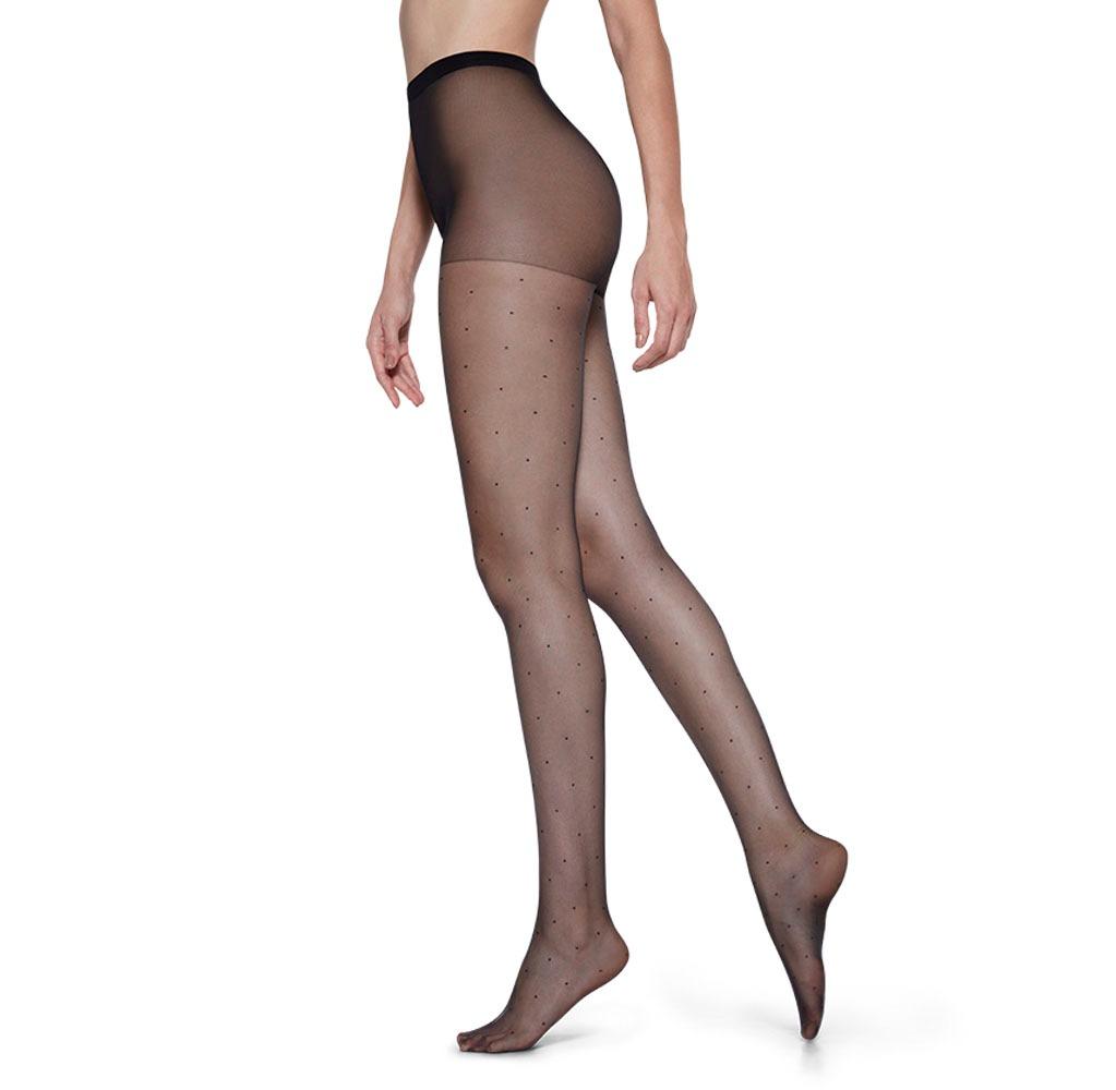 Lupo meia-calça petit poa 5687