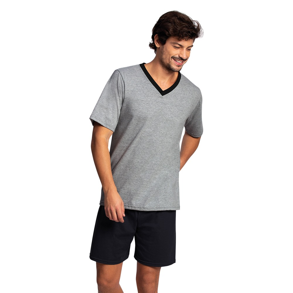 Lupo Pijama Curto Algodão Masculino 28800c