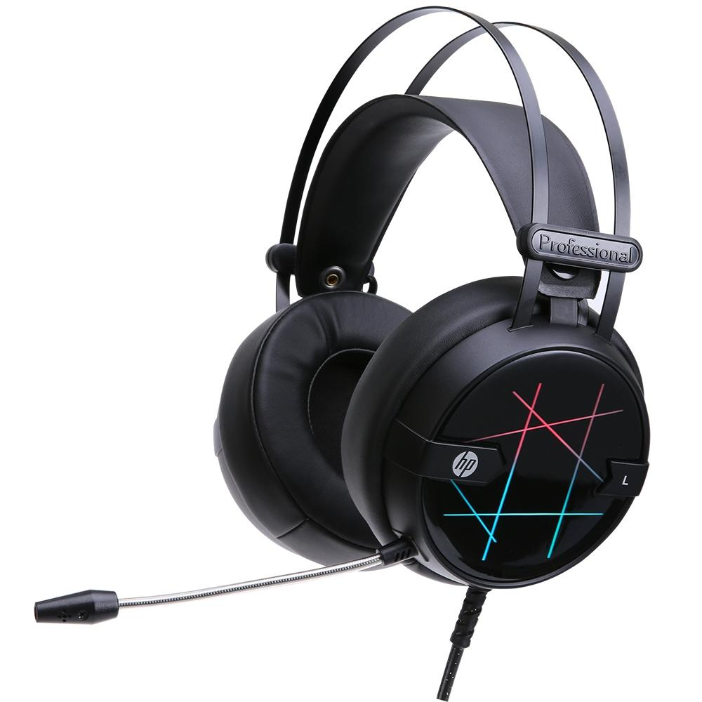 Headset Gamer HP H160G Preto USB
