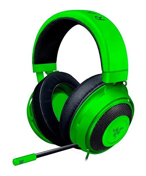 Headset Gamer - Razer Kraken Green Multi Plataform (PC/PS4/XBox/Mobile)