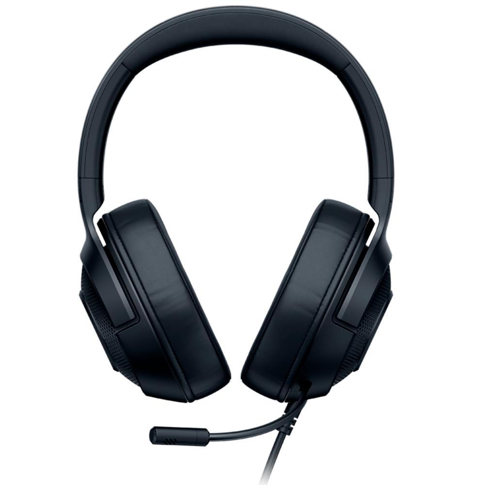 Razer - Headset Gamer Kraken X Lite Essential P3 - Preto