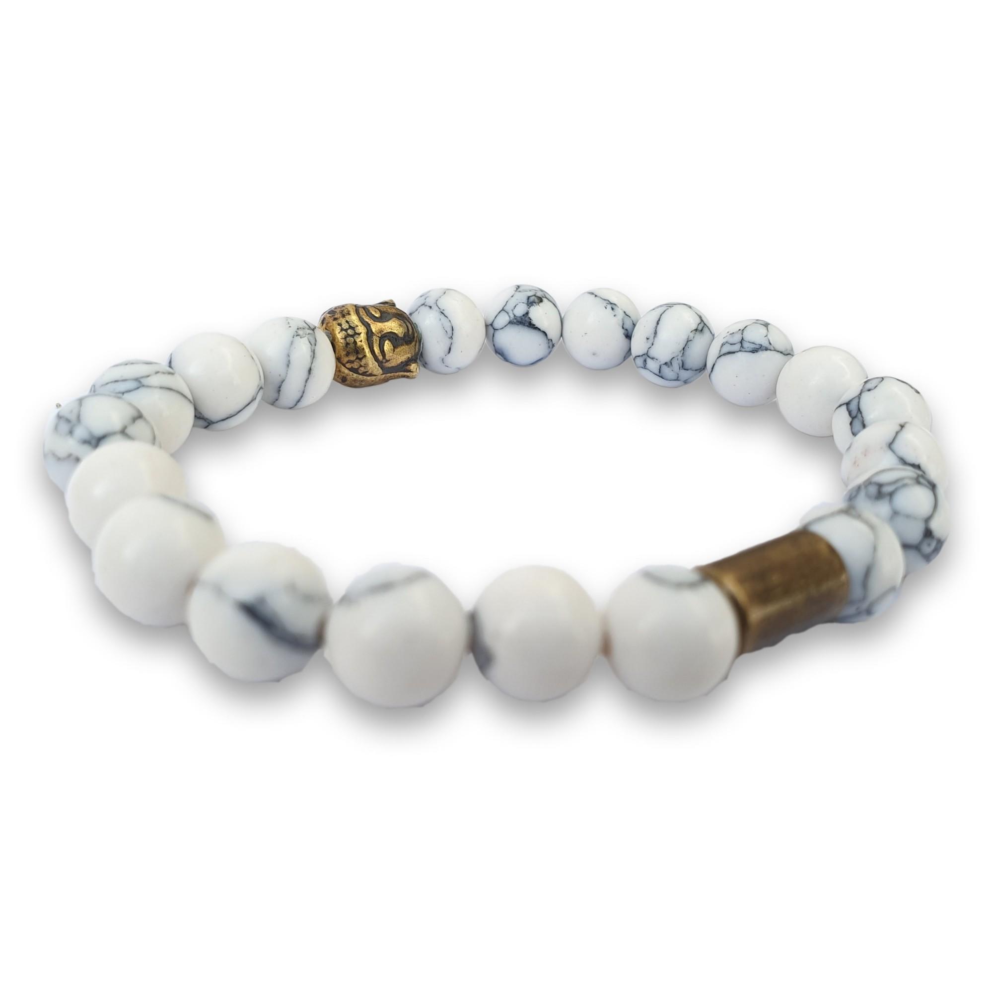 Pulseira de Pedra ZFW Precious White