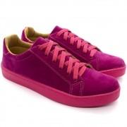 Tenis Feminino Cadarço Colors Pink