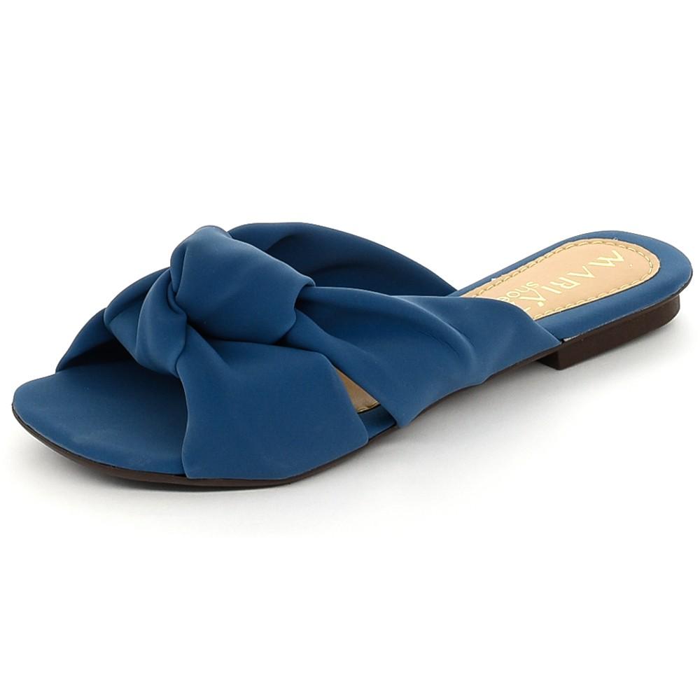 Rasteira Sandália Super Confort Denin Color