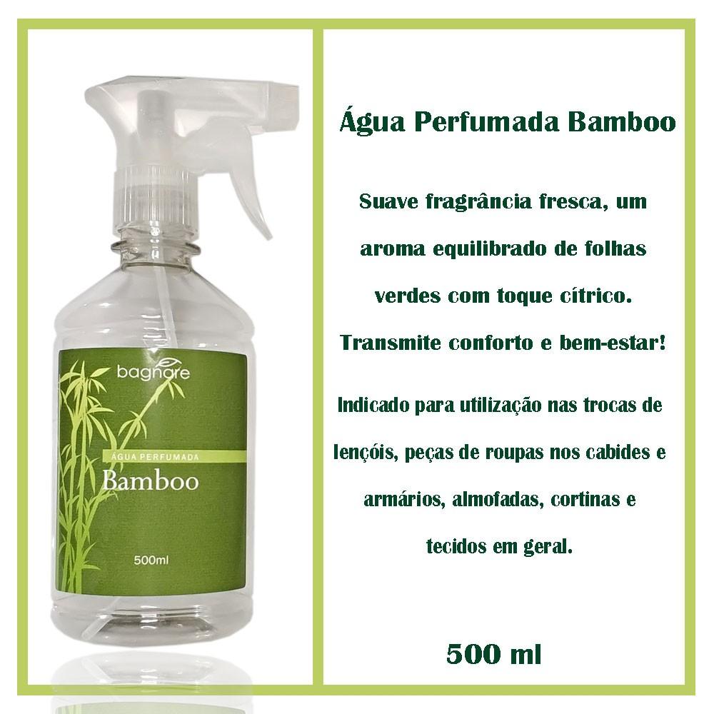 Água Perfumada Bamboo 500 ml - Bagnare