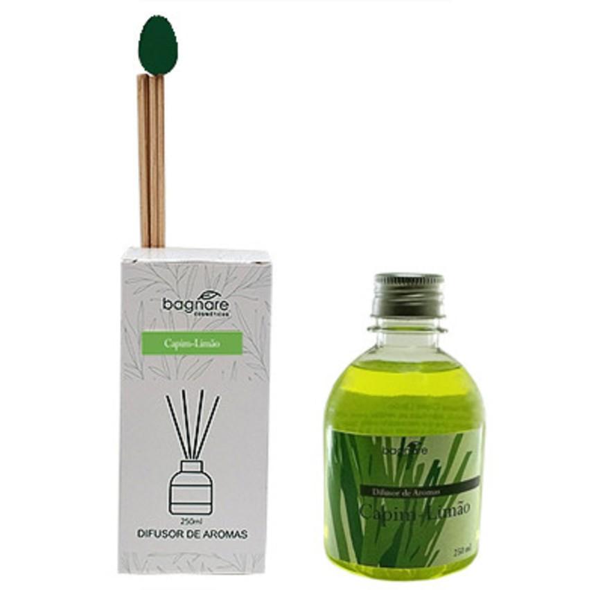 Difusor de Aromas Varetas Tulipa Capim Limão  250 ml