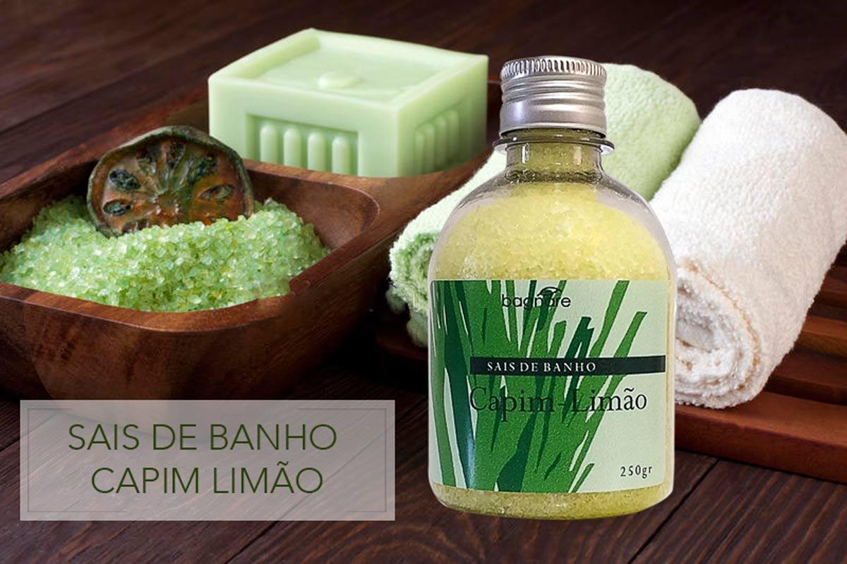 Kit 4 Sais De Banho para Banheira De Hidro Relaxante Capim Limão Verbena lavanda Alecrim