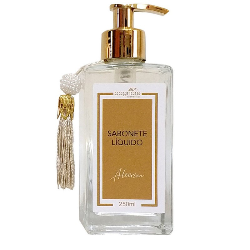 Sabonete Líquido Bagnare Alecrim Luxo 250 ml