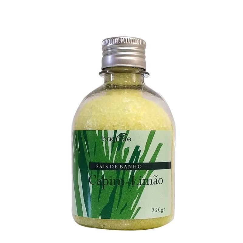 Sais de Banho Capim-Limão Bagnare 250 g