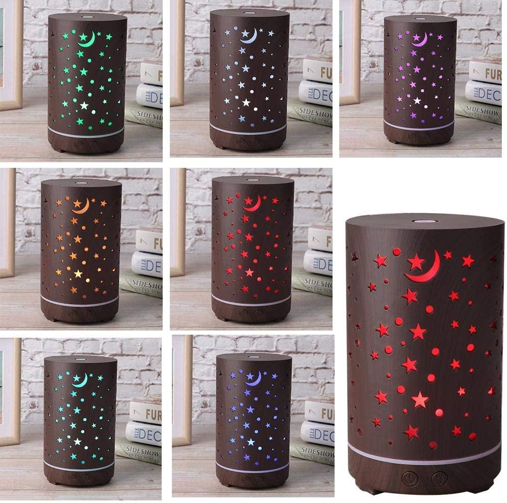 Umidificador Difusor Ar Aromatizador Ultrassônico  Luminária + Brinde Essência Bamboo