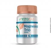 Magnésio Trio - Fitofar - 550mg - 60 cápsulas