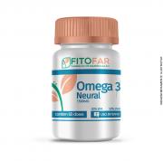 Ômega 3 Neural - 1500mg - 20% EPA + 50% DHA - 60 cápsulas