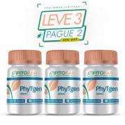PHYTGEN ® 200MG - GRANDE AUXILIO NA AÇÃO TERMOGÊNICA - LEVE 3, PAGUE 2