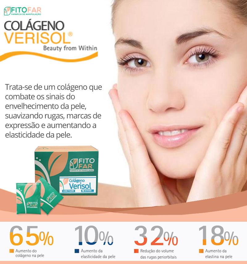 Colágeno Verisol - Peptídeos Bioativos de Colágeno para pele, unhas e celulite