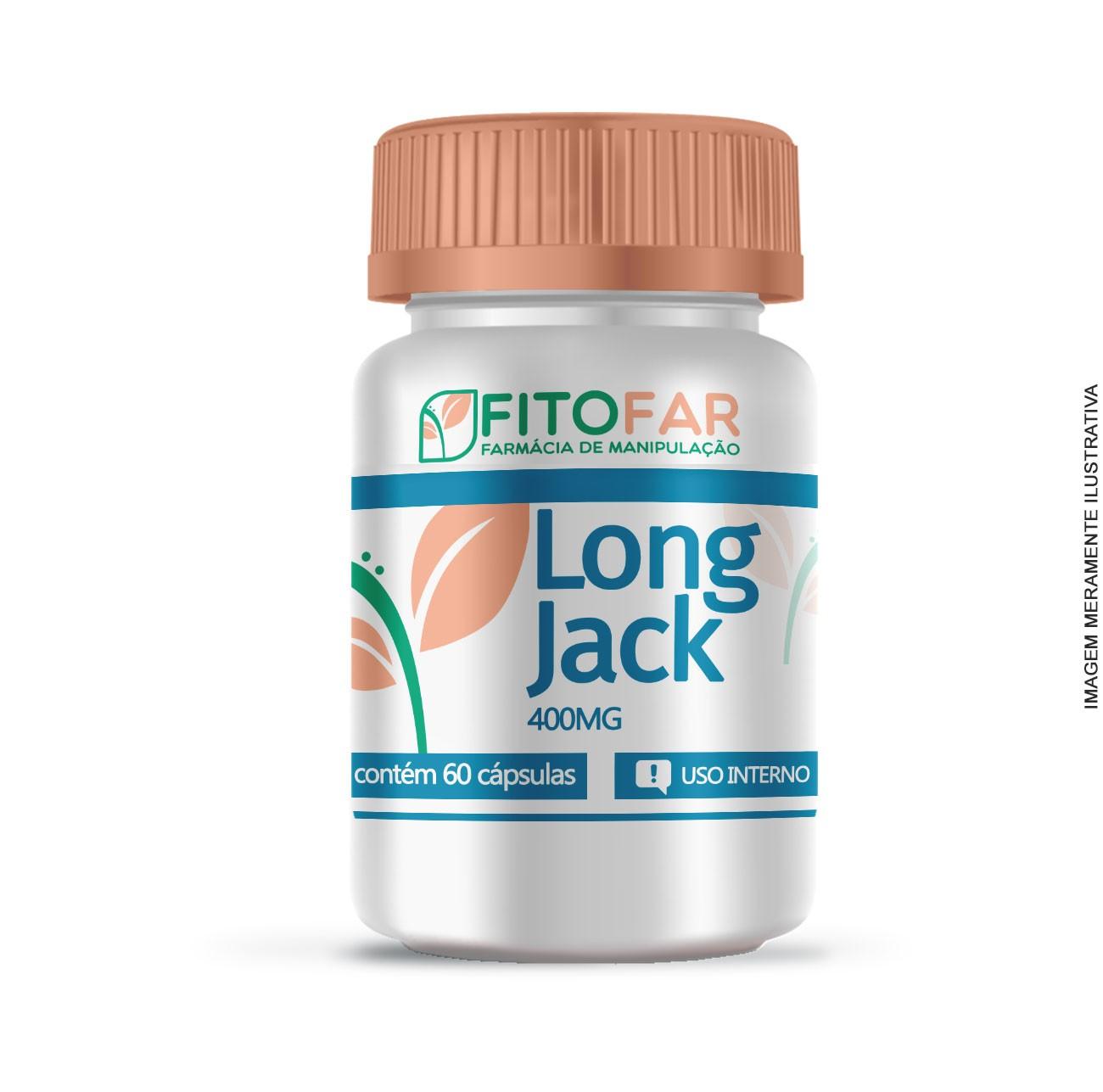 LONG JACK 400MG - 60 CÁPSULAS
