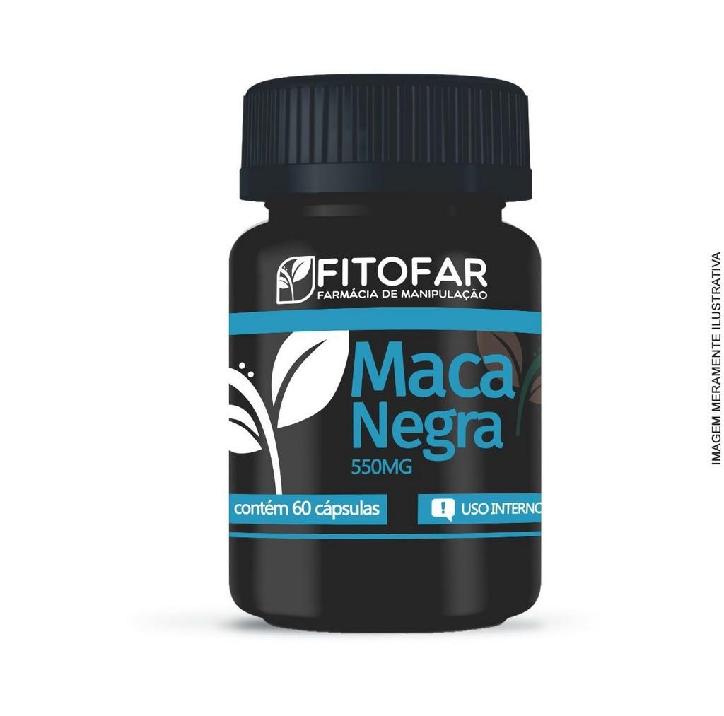 MACA NEGRA 500 mg - 60 CAPSULAS