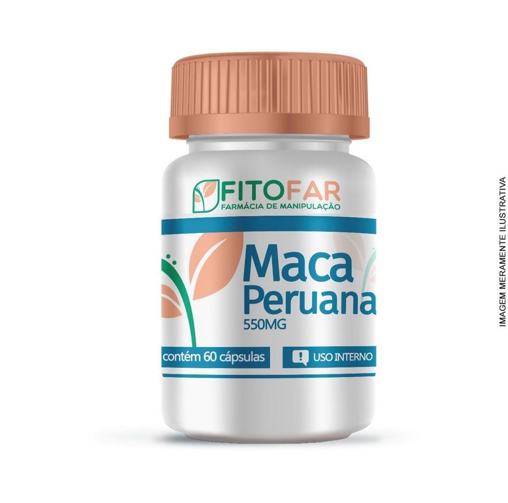 MACA PERUANA 550MG - 60 CÁPSULAS