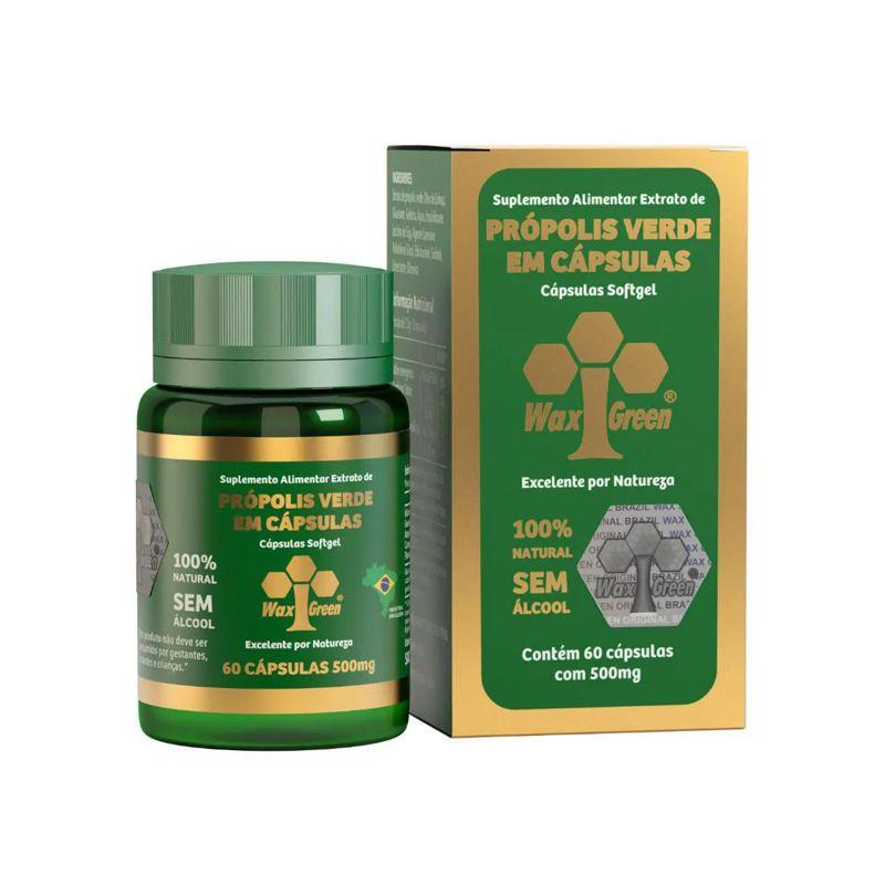 Própolis Verde em cápsulas 500mg 60 doses