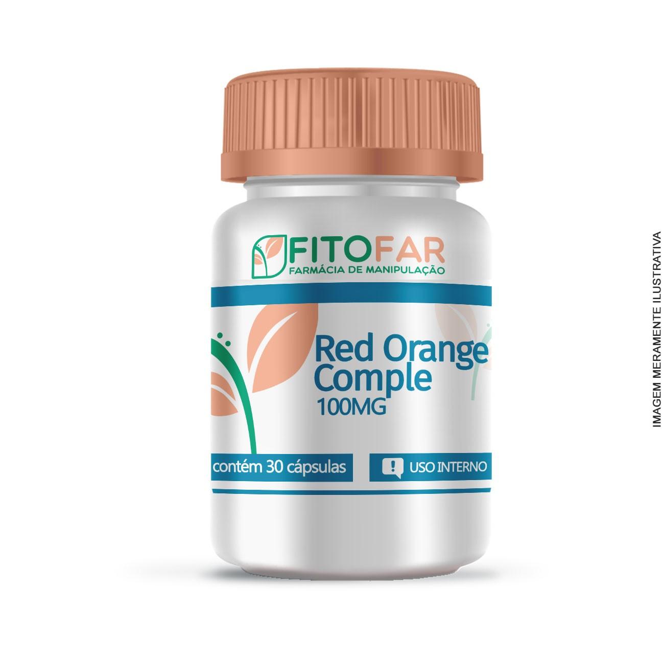 Red Orange Complex - 100MG - 30 CÁPS
