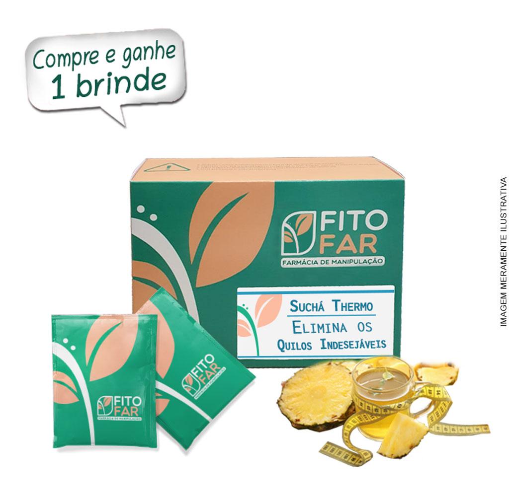 Suchá Thermo - suco e chá - termogênico descafeinado - sabor abacaxi - 30 sachês