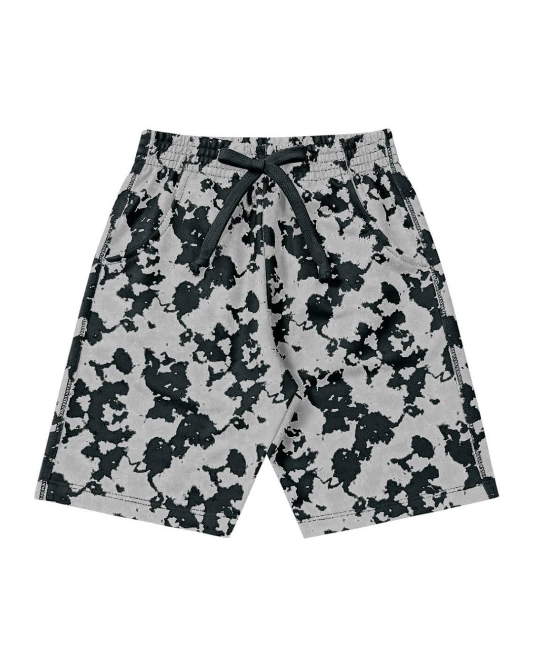 Bermuda Infanto-Juvenil Militar Jeans - Playground