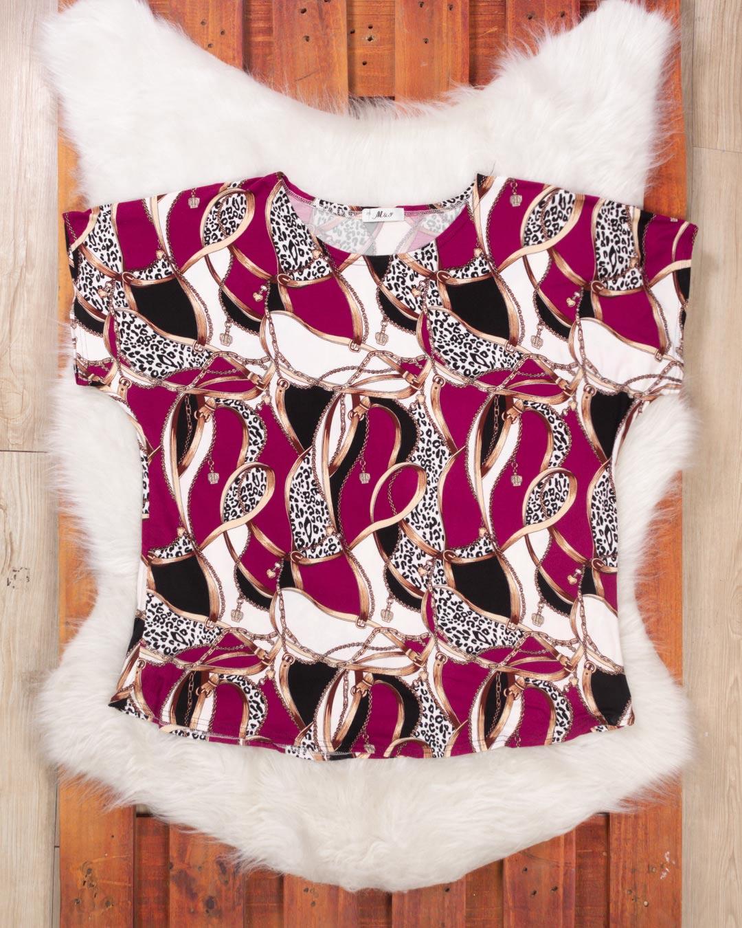 Blusa Adulta Plus Size Malha Leve - M & Y Fashion