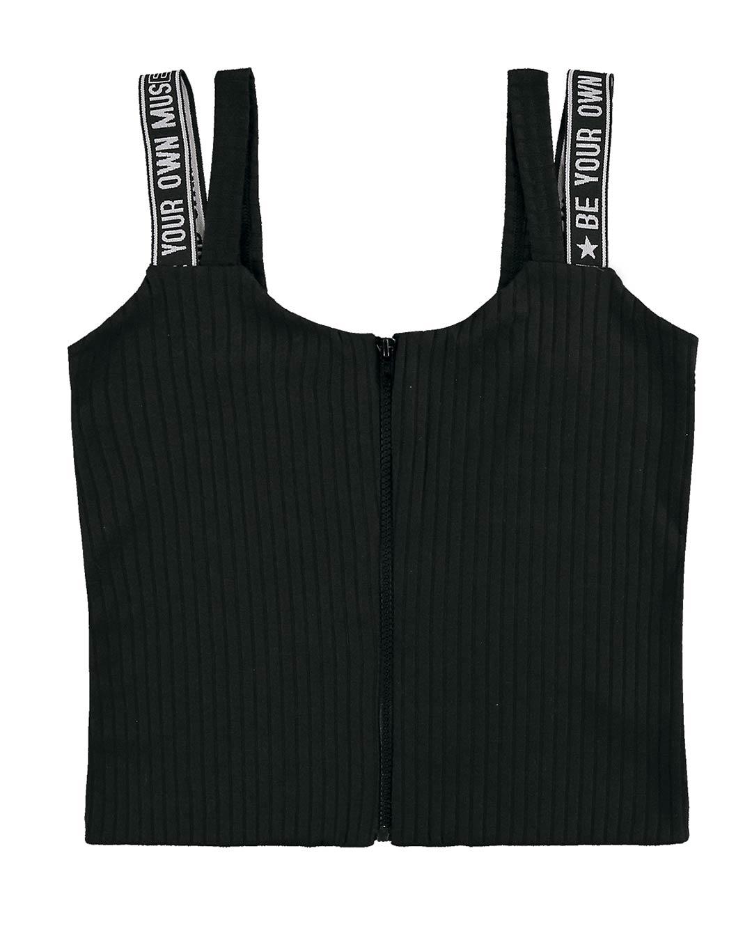 Blusa Feminina Cropped Canelado - Lecimar