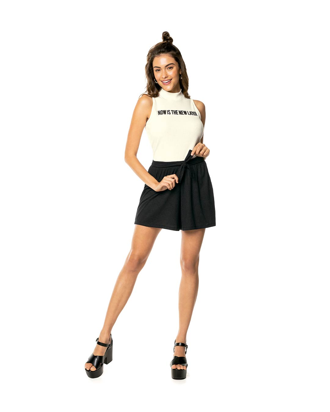Blusa Feminina Now Is The New Later - Lecimar