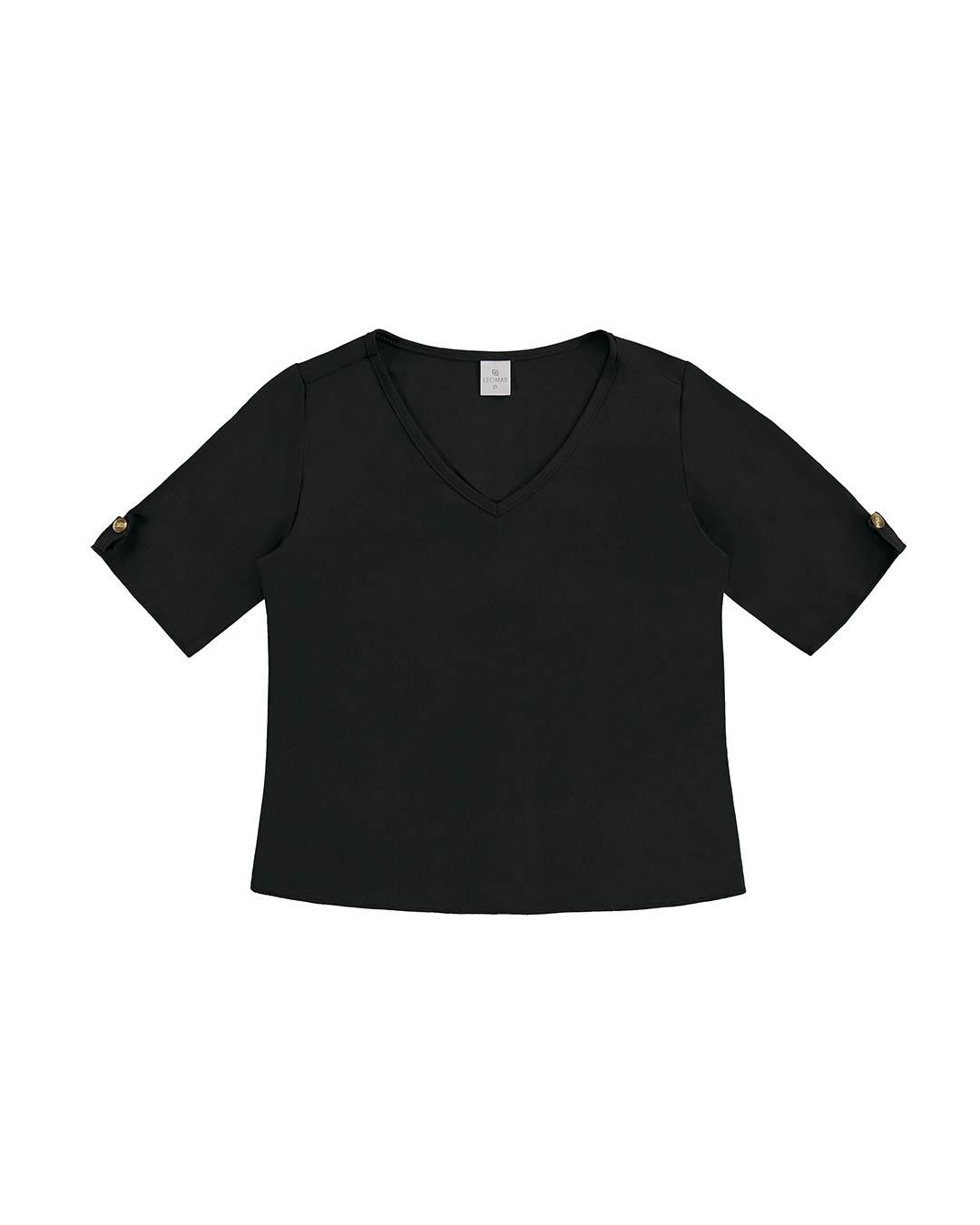 Blusa Feminina Tricoline Viscose - Lecimar