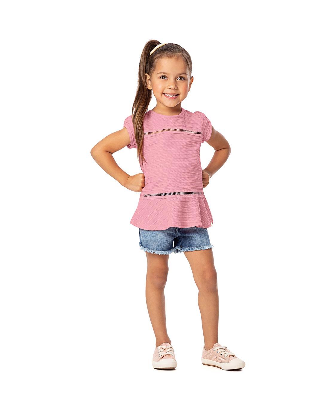 Blusa Infantil Com Faixa - Alenice