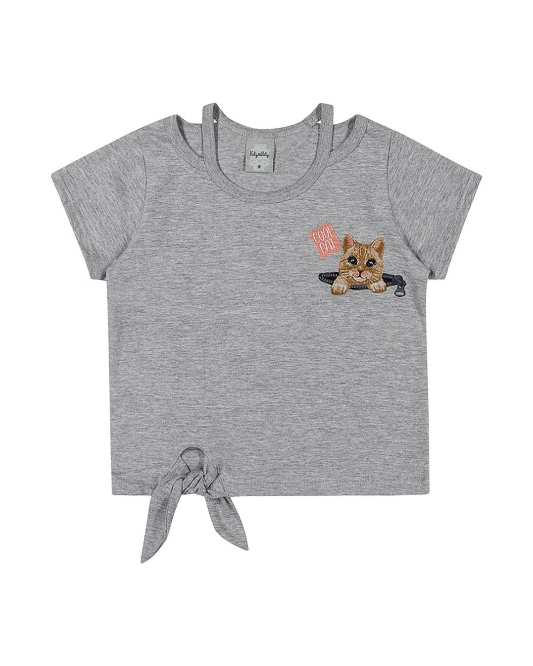 Blusa Infantil Cool Cat - Kely & Kety