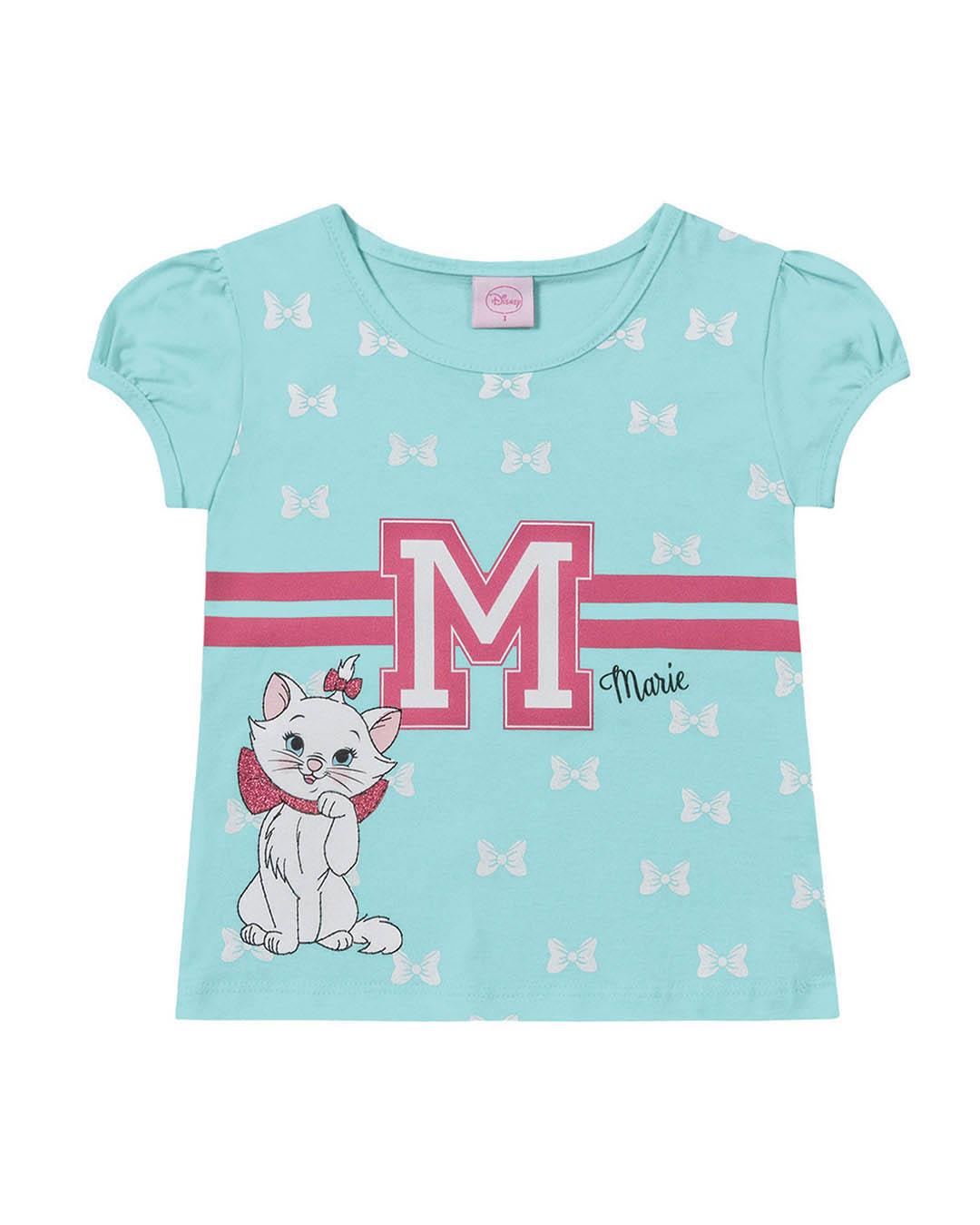 Blusa Infantil Gatinha Marie - Fakini