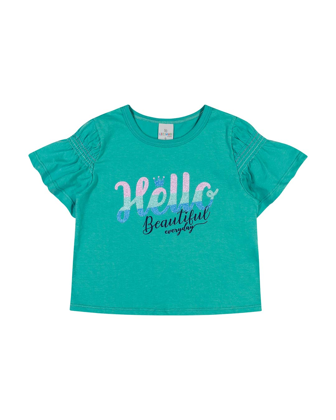 Blusa Infantil Hello Beautiful - Lecimar
