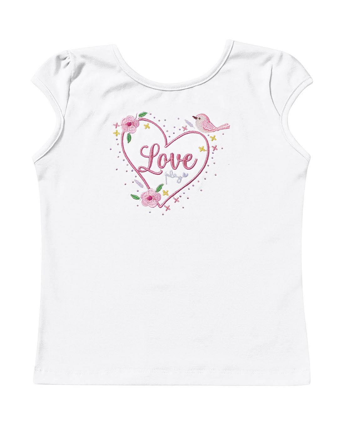 Blusa Infantil Love - Playground