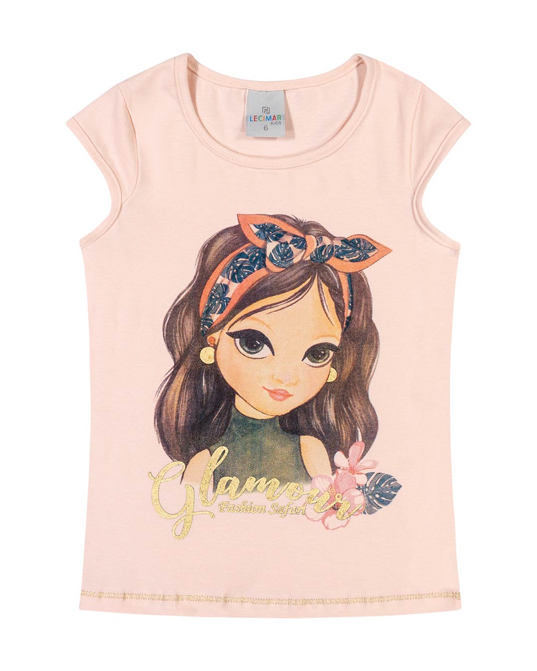 Blusa Infantil Menina Glamour - Lecimar