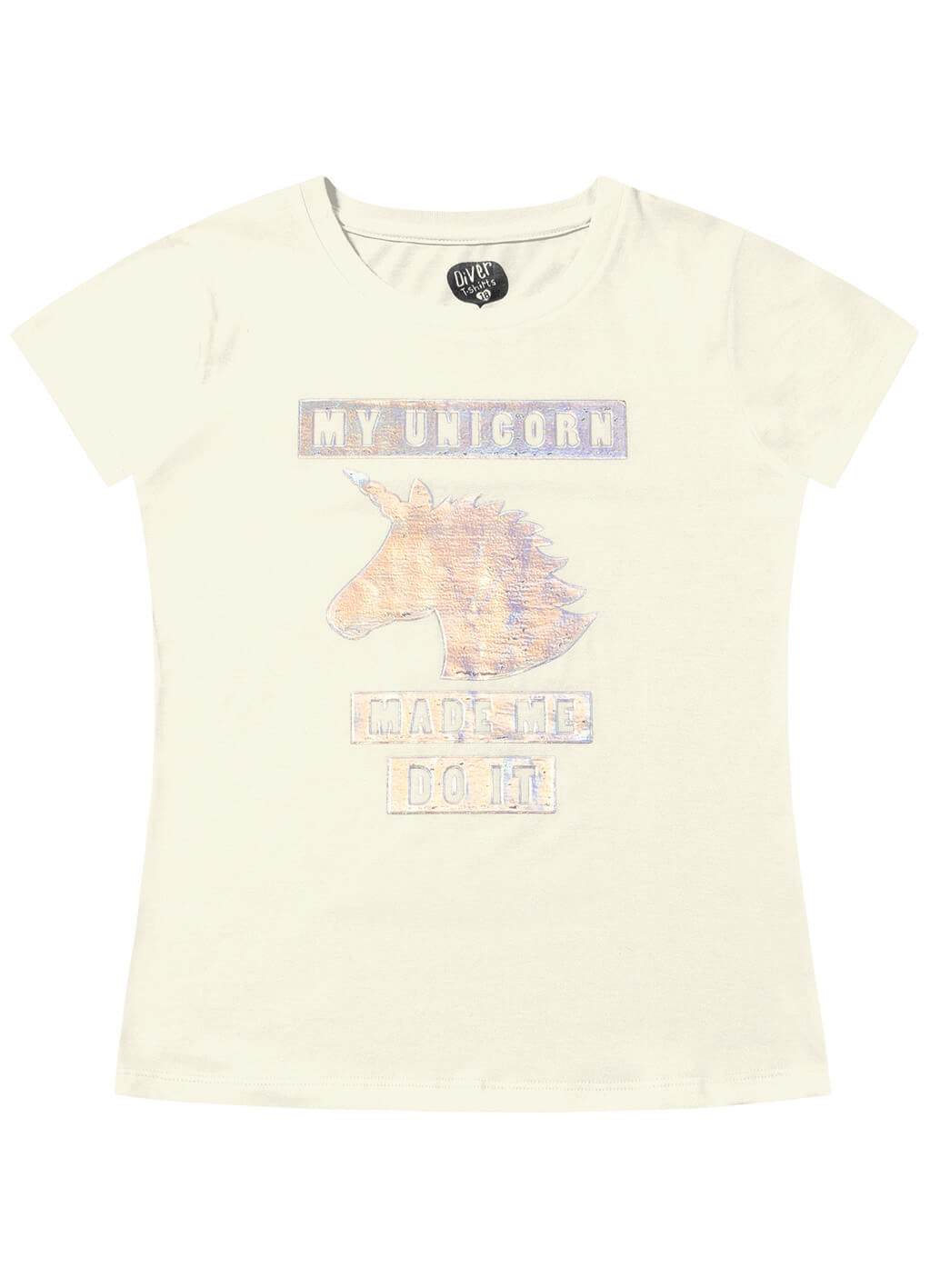 Blusa Juvenil My Unicorn - Fakini
