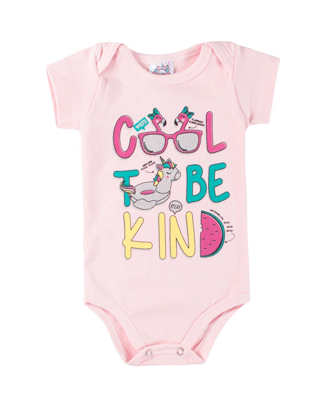Body Bebê Cool To be Kind - Clubinho