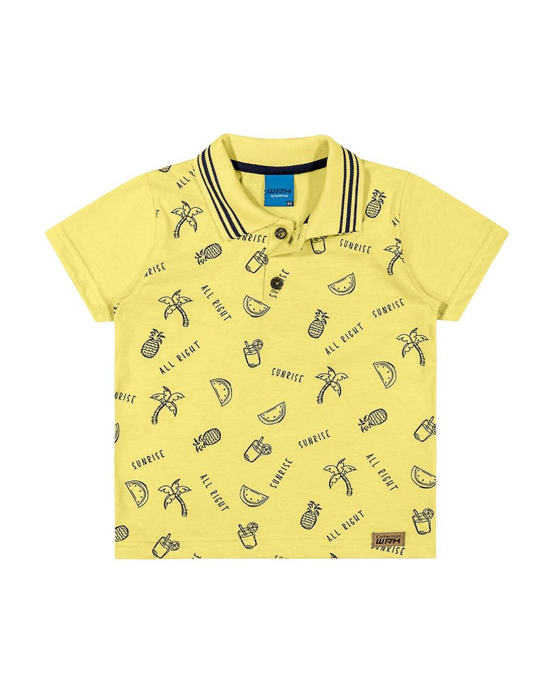 Camisa Polo Infantil Sunrise - WRK