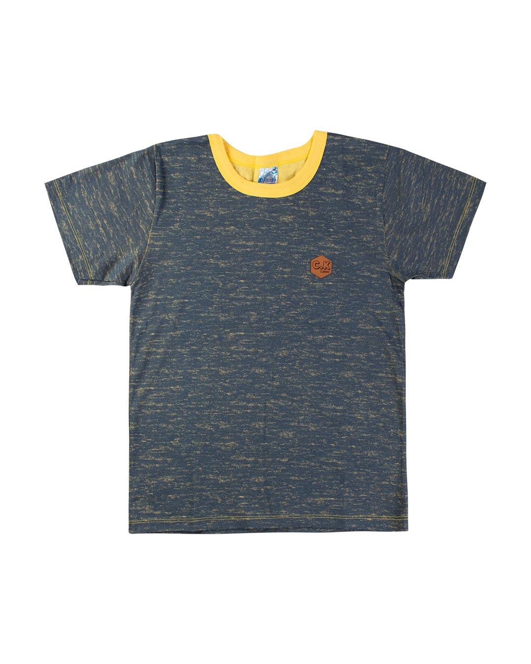 Camiseta Aplique Clubinho C.K - Clubinho
