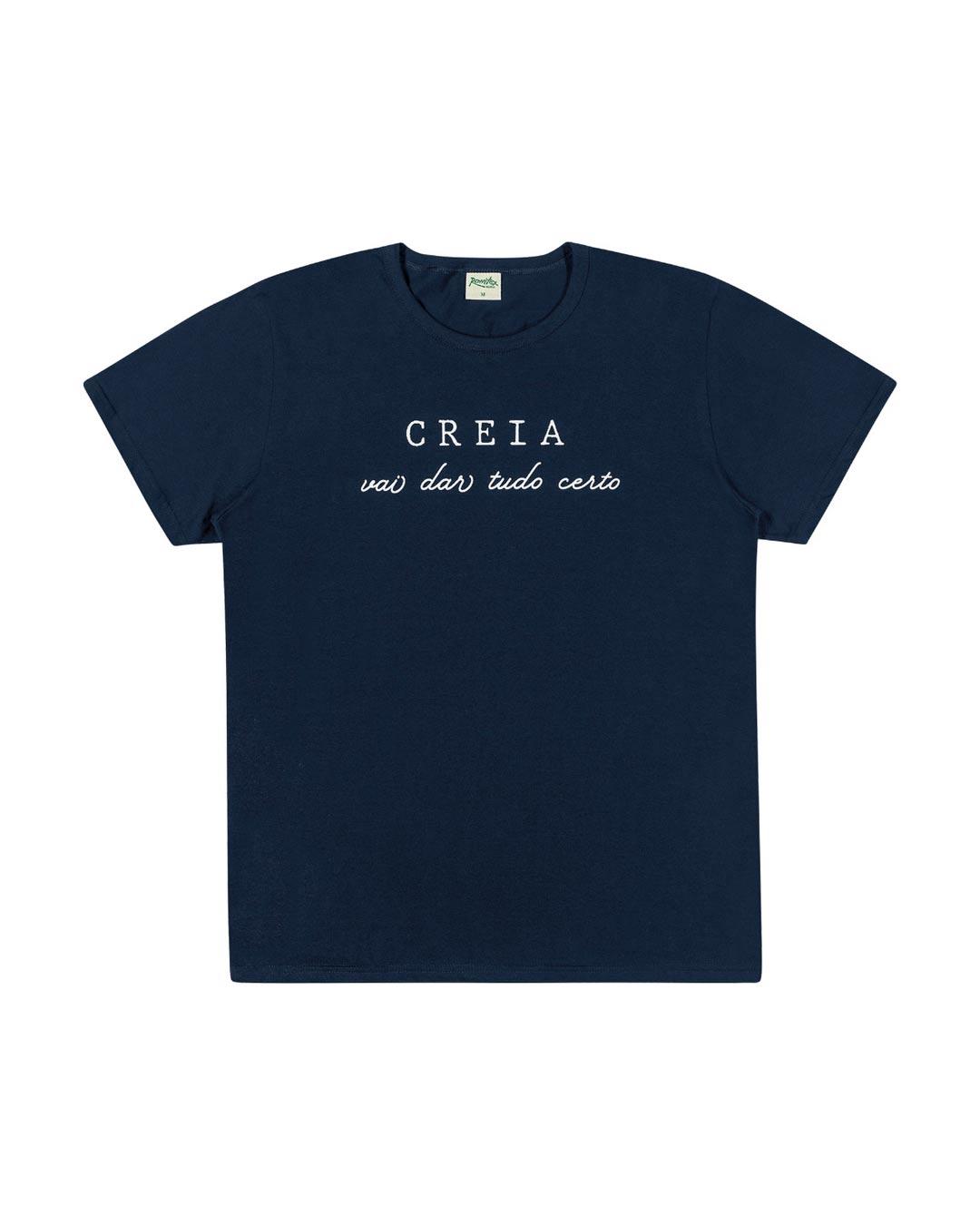 Camiseta Creia Tudo Vai Dar Certo - Romitex
