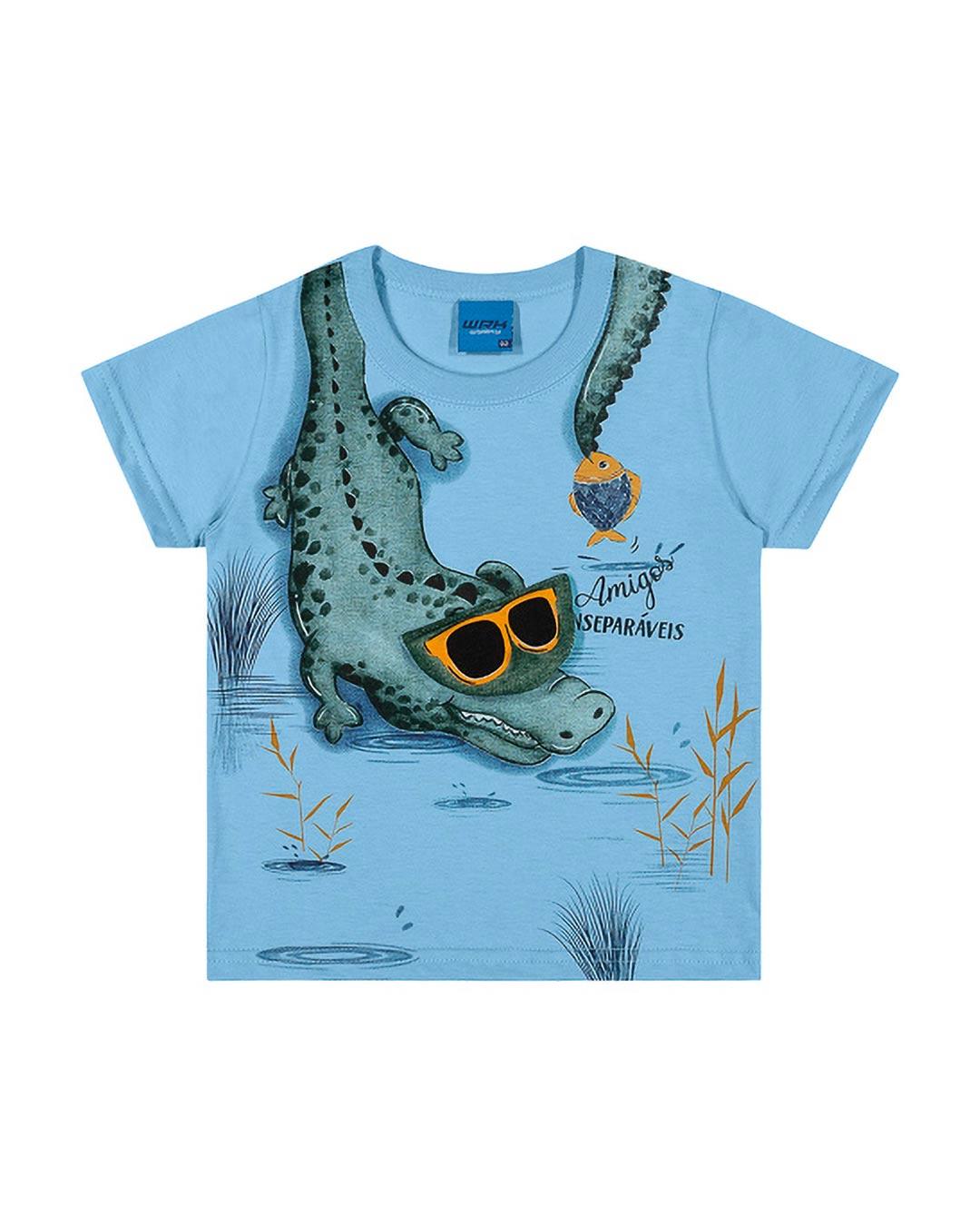 Camiseta Infantil Amigos Inseparáveis - WRK