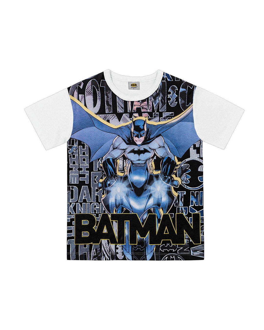 Camiseta Infantil Batman - Fakini
