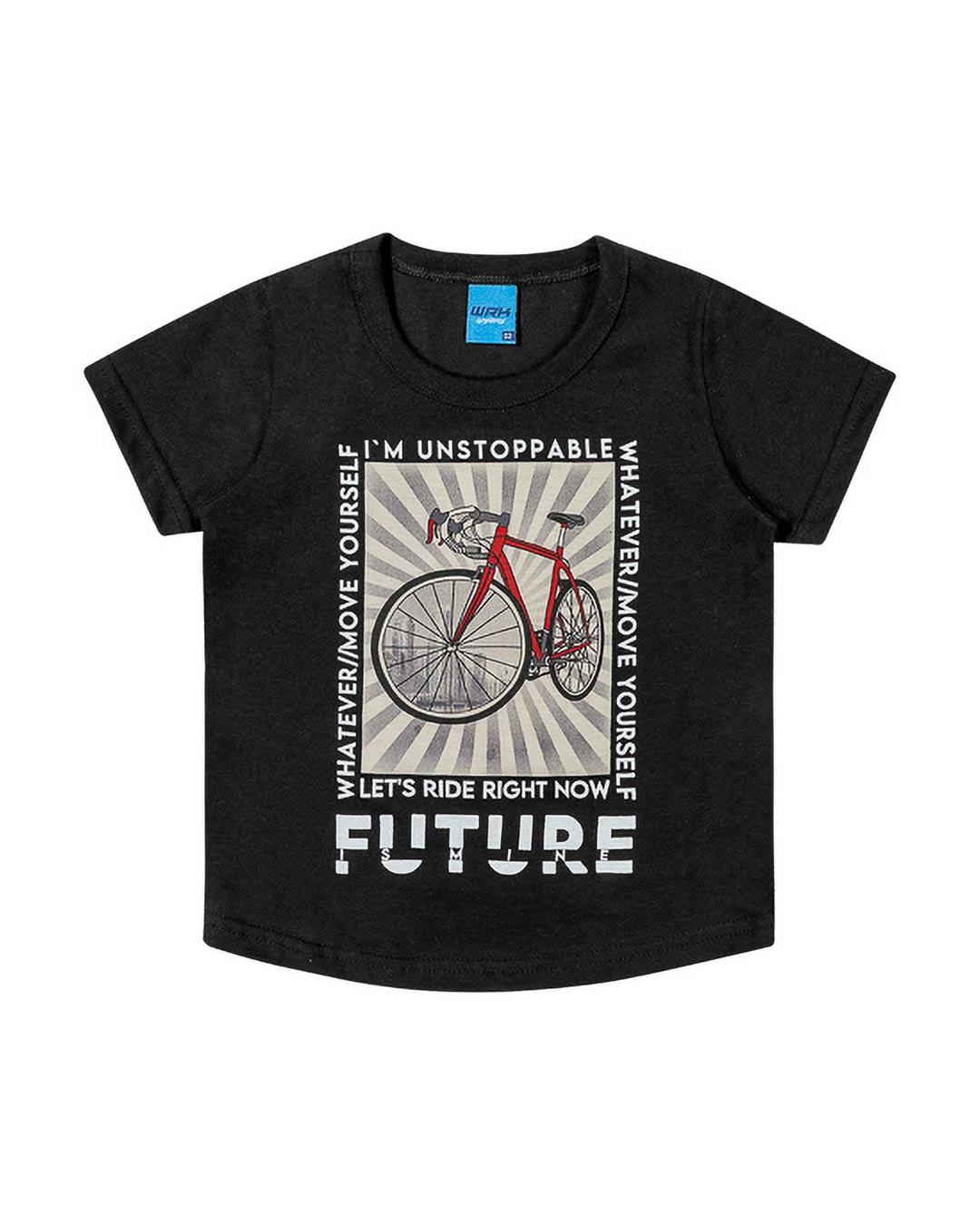 Camiseta Infantil Future Is Mine - WRK