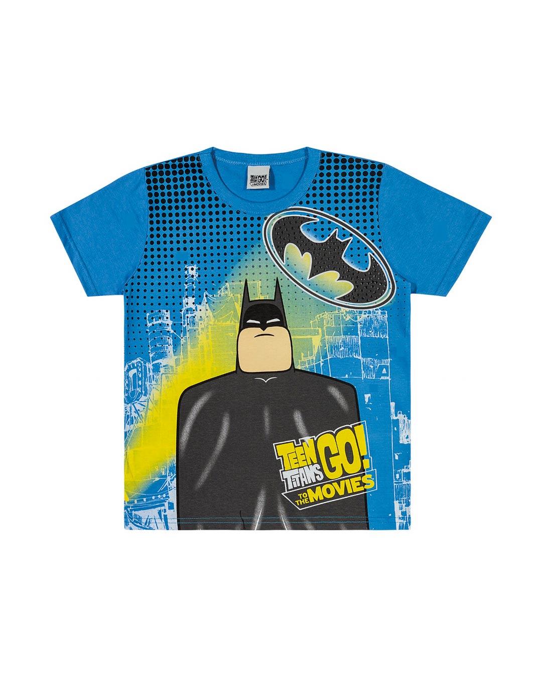Camiseta Infantil Herói Batman - Teen Titans Go
